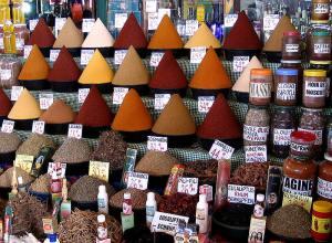 Mercado de especias, Marruecos