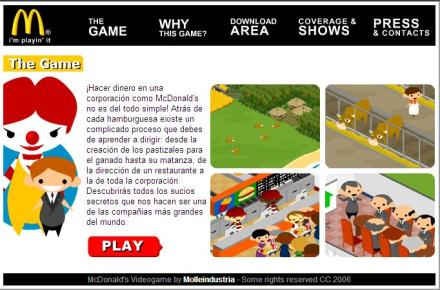 El juego de McDonalds