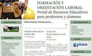 Blog Formación y Orientación Laboral de Javier Pelayo
