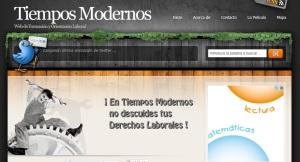 Blog Tiempos Modernos