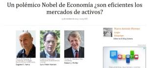 nobel economia 2013