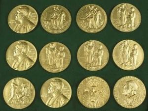 medallas premios nobel