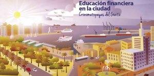 Comic Educación financiera en la ciudad