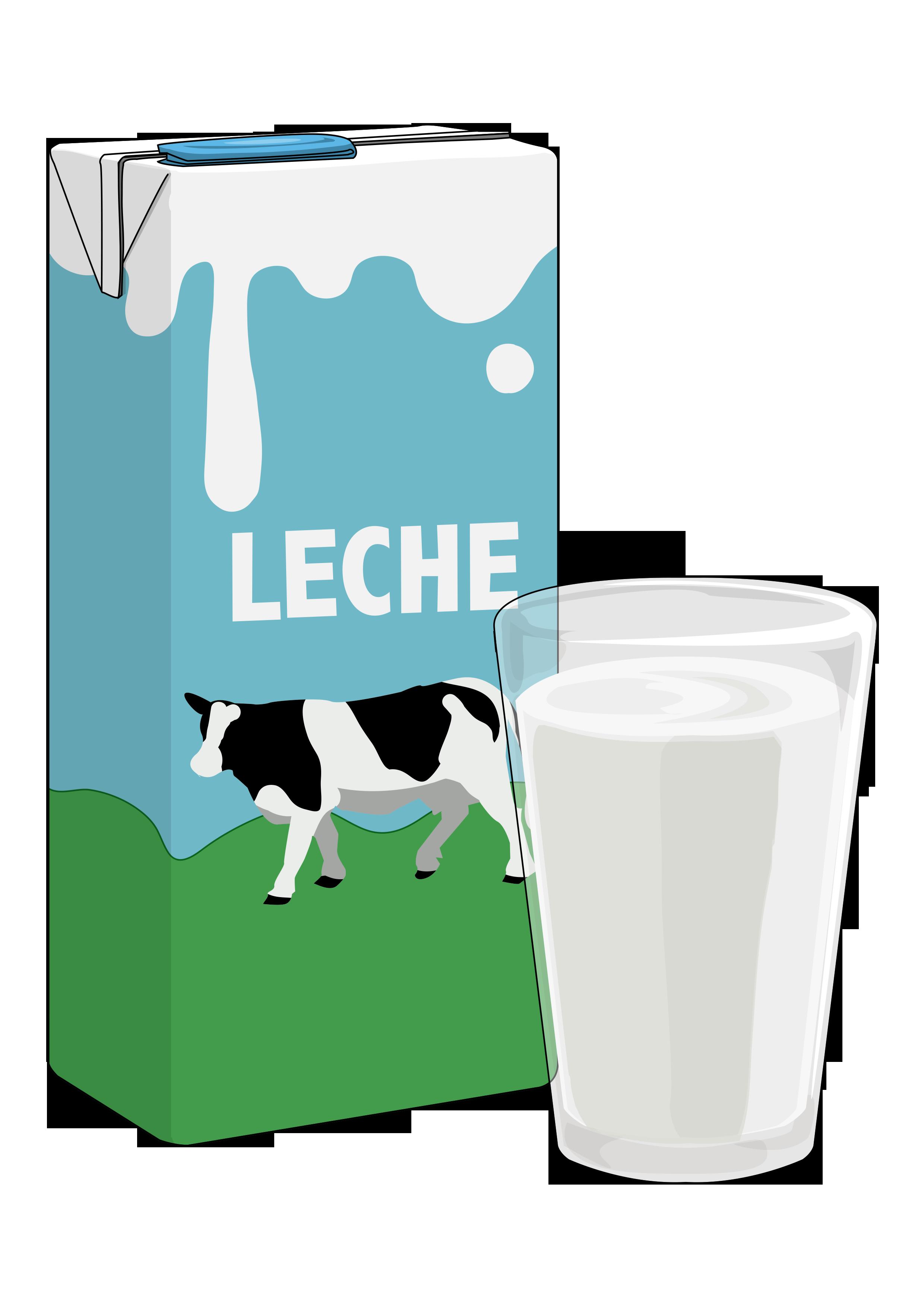 en leche: