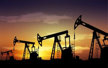 pump jack oil field