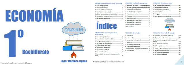 Apuntes Economía de econosublime