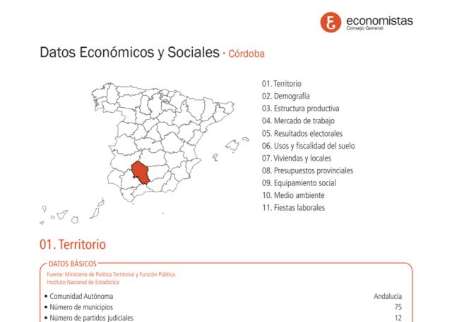 fichas económicas y sociales